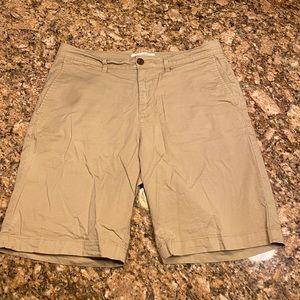 Original Penguin brand khaki shorts